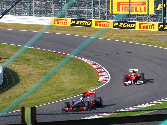 世界最高峰の自動車レース F1