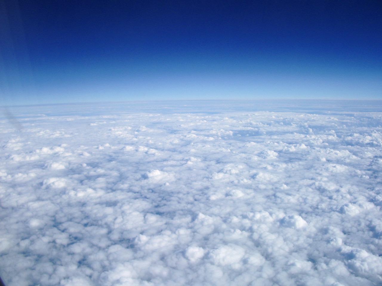 イギリス上空